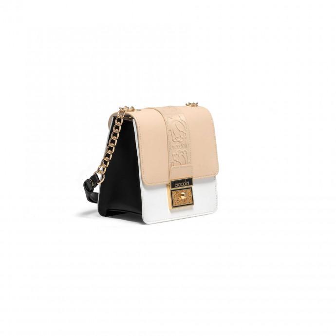 Мини-сумка с длинным ремешком Braccialini