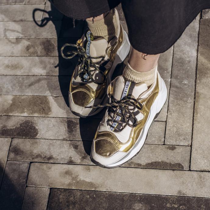 Кроссовки с меховой стелькой  Fabi