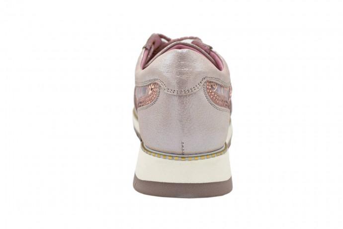 Кроссовки из кожи и ткани Renzoni L. M.
