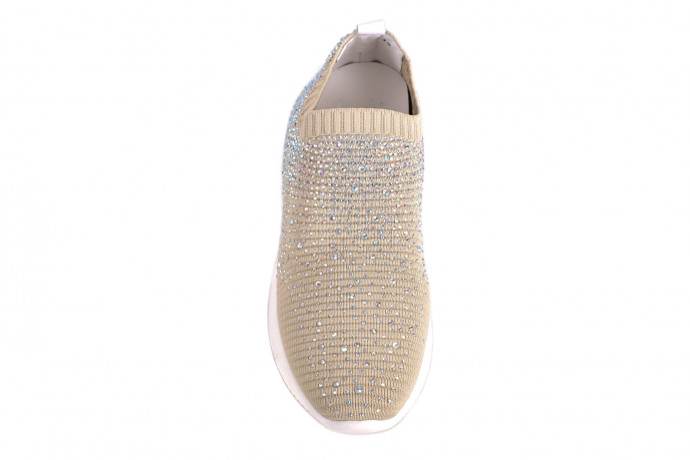 Кроссовки из ткани Renzoni L. M.
